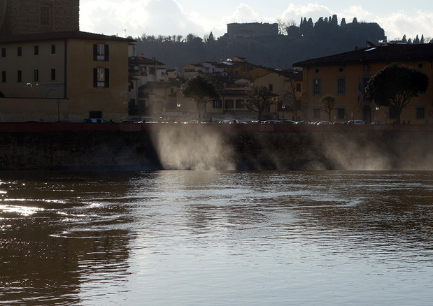 Fiume Arno River, Florence, Italy. 2014