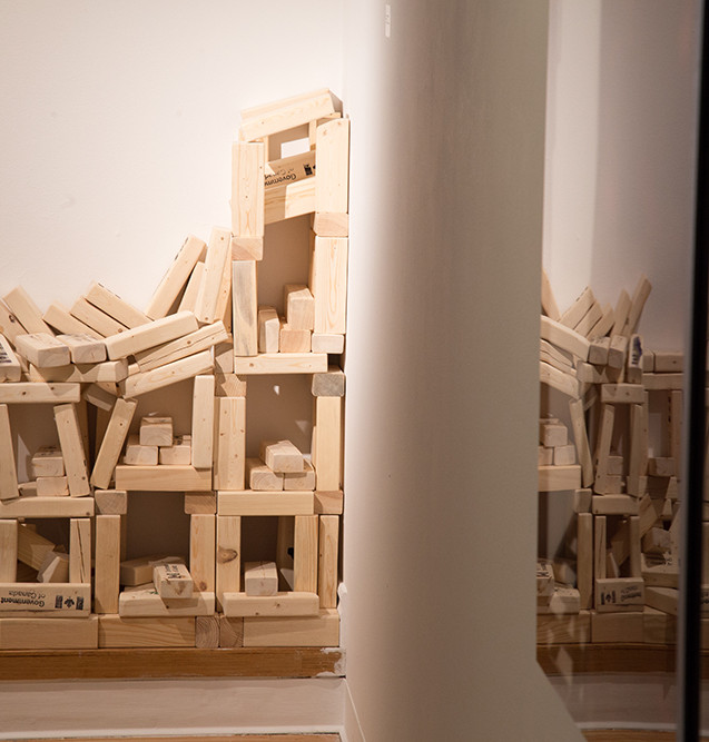 HUMAN CAPITAL, installation view