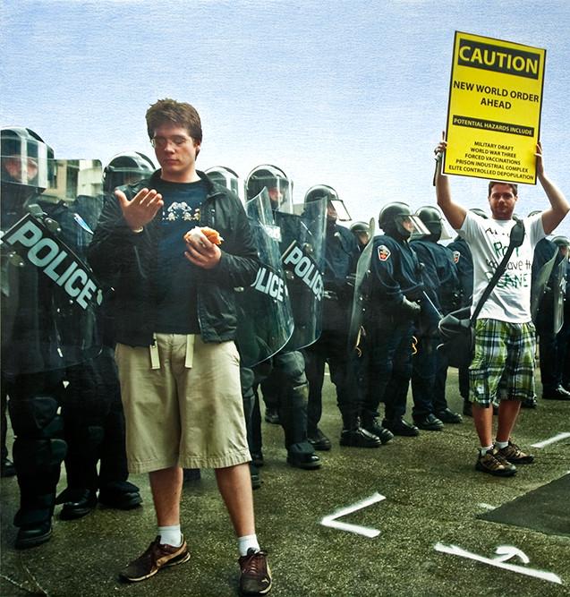 Caution, 2011.