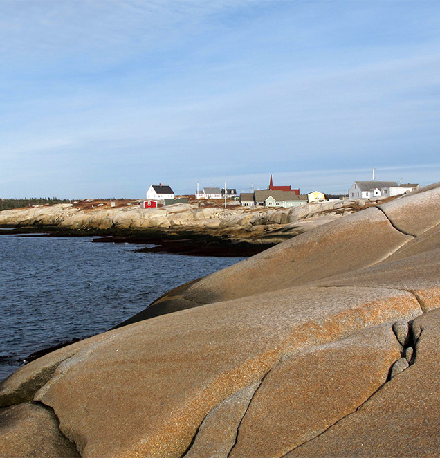 Peggys Cove, Nova Scotia. Jan. 2013.