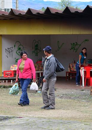 Sutamarchán, Ricaurte Province, Boyacá, Colombia. July, 2012.