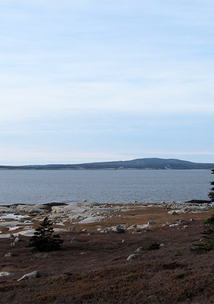 Peggys Cove, Nova Scotia. Jan. 2013.