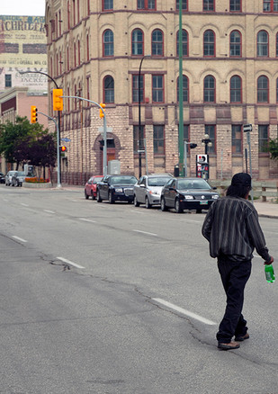 Winnipeg, Manitoba. August 2010.