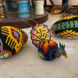 Huichol turkey & eggs