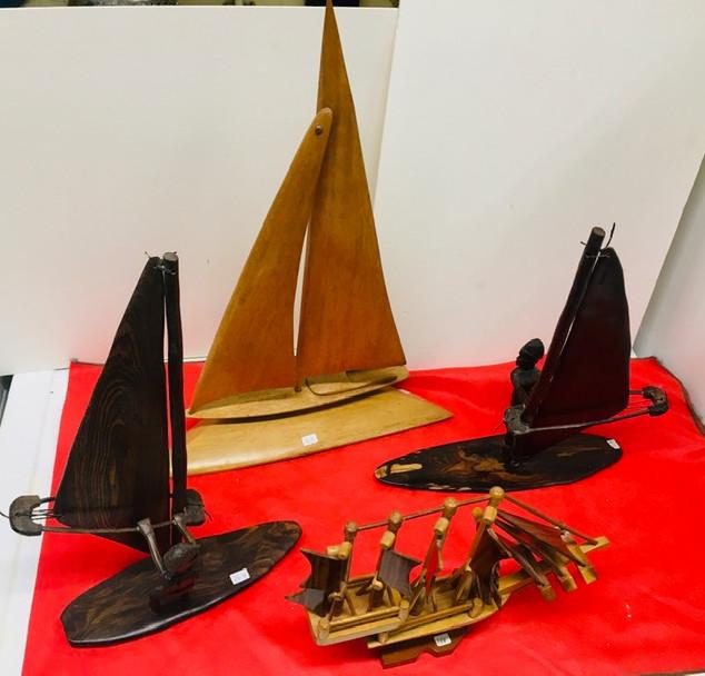 Sailboat & windsurfers