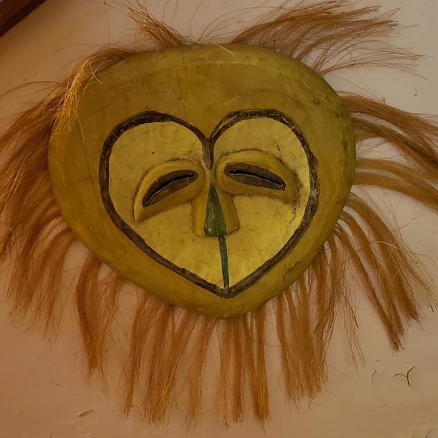 Sun face tribal