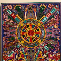 Huichol sun