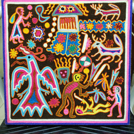 Huichol eagle - SOLD