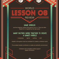 Illustration for Gaming Course - Summary Infographic