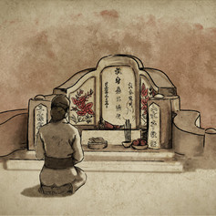 Static illustration for video