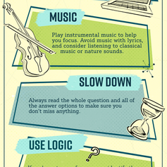 Study Stategies Infographic for English 101
