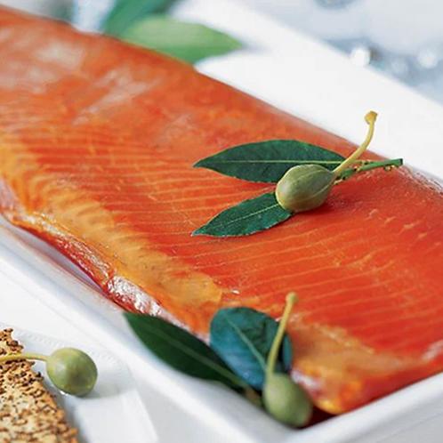 Organic Salmon, Whole Side, Skin On