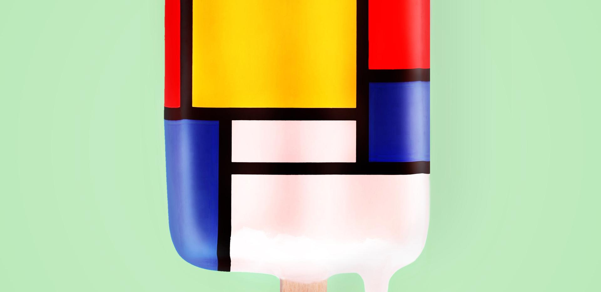 Mondrian popsicle