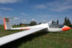 Segelfliegen Innsbruck Astir in Tschechien