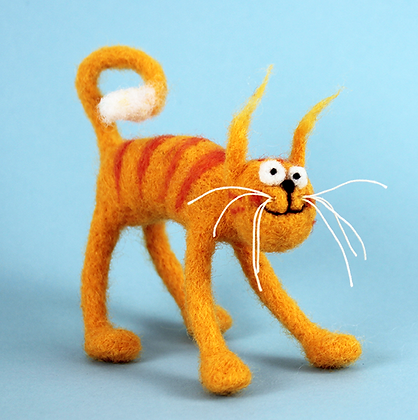 Cool Cat Needle Felting Kit   (AKC)