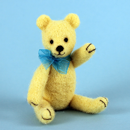 Bear Buddy Needle Felting Kit   (AKT)