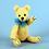 Thumbnail: Bear Buddy Needle Felting Kit   (AKT)