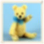 Needle felted teddy bear kit