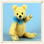 Needle felted teddy bear kit
