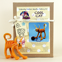Cool Cat Needle Felting kit