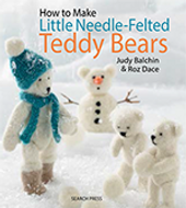 Little NeedleFelted Teddy Bears book