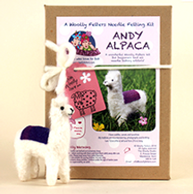 Andy Alpaca Needle Felting kit