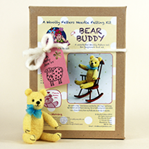 Bear Buddy Needle Felting kit