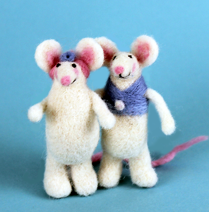Mouse Mates Needle Felting Kit   (AKM)