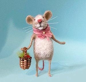 Ickle Mouse Needle Felting Kit