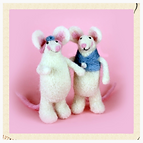 needle felted mice kit