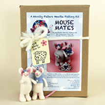 Mouse Mates Needle Felting kit
