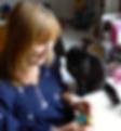 Roz Dace author, commissioning editor, needle felter
