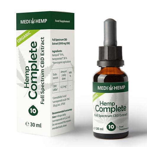 Organic Hemp Complete10% 30ml