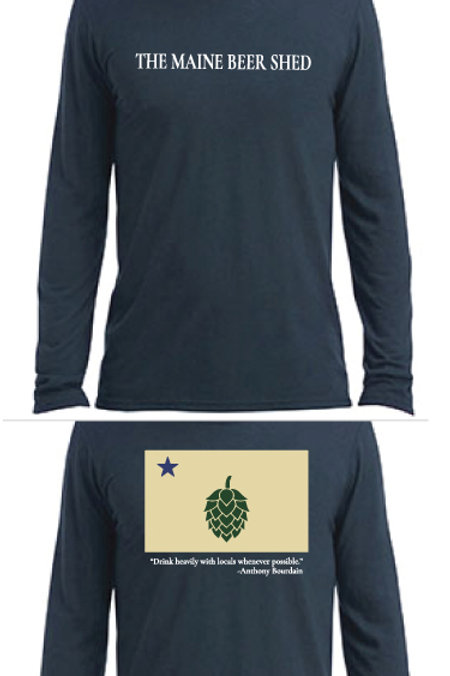 Drink heavily with locals long sleeve