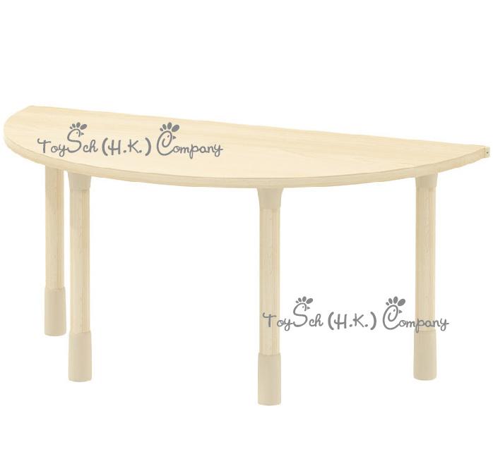 兒童半圓桌子