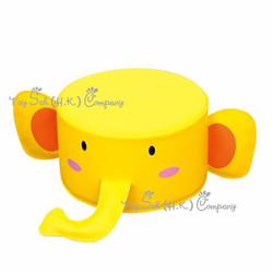 大象圓梳化凳