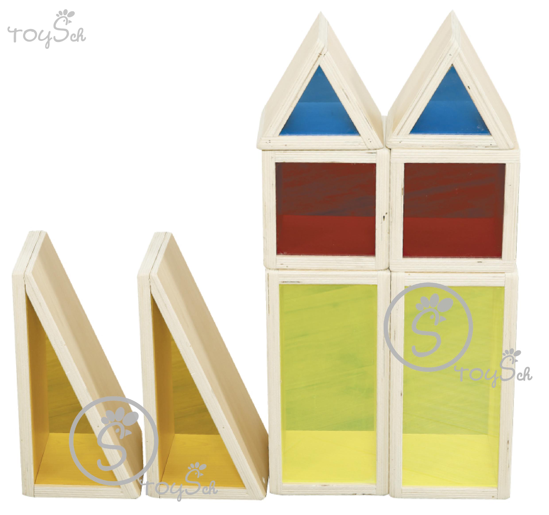 Colorful Acrylic Blocks