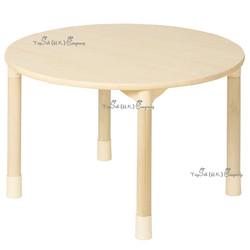 兒童實木圓桌子