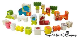 動物串繩玩具