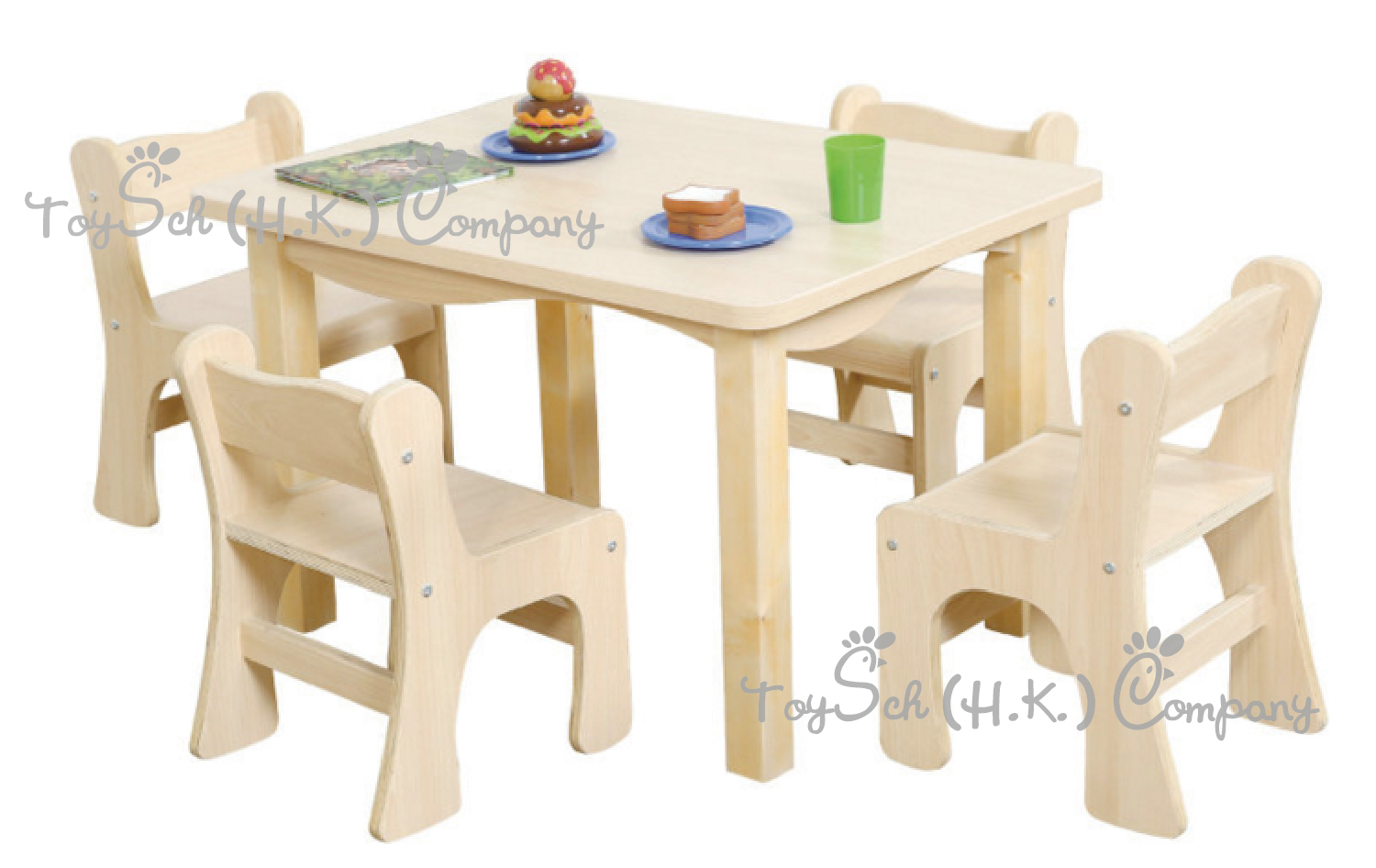 Children Rectangle Table -4