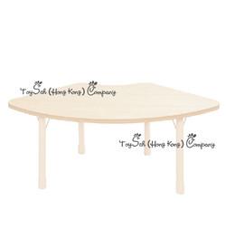 兒童扇形桌子