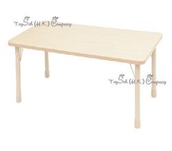 兒童長方桌子(6人)