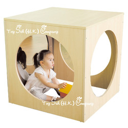 Cube Mirror Play Space