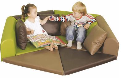 Children Furniture Cushion Sofa Soft Reading Corner 香港 幼稚園・學校・兒童軟梳化・兒童傢俬