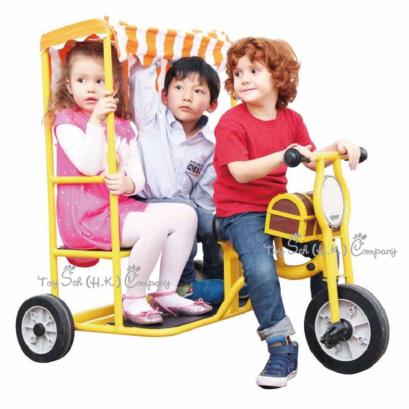 Three-Seater Power Trike 幼兒三輪車