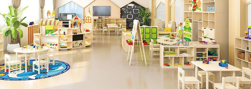 簡約幼稚園設計