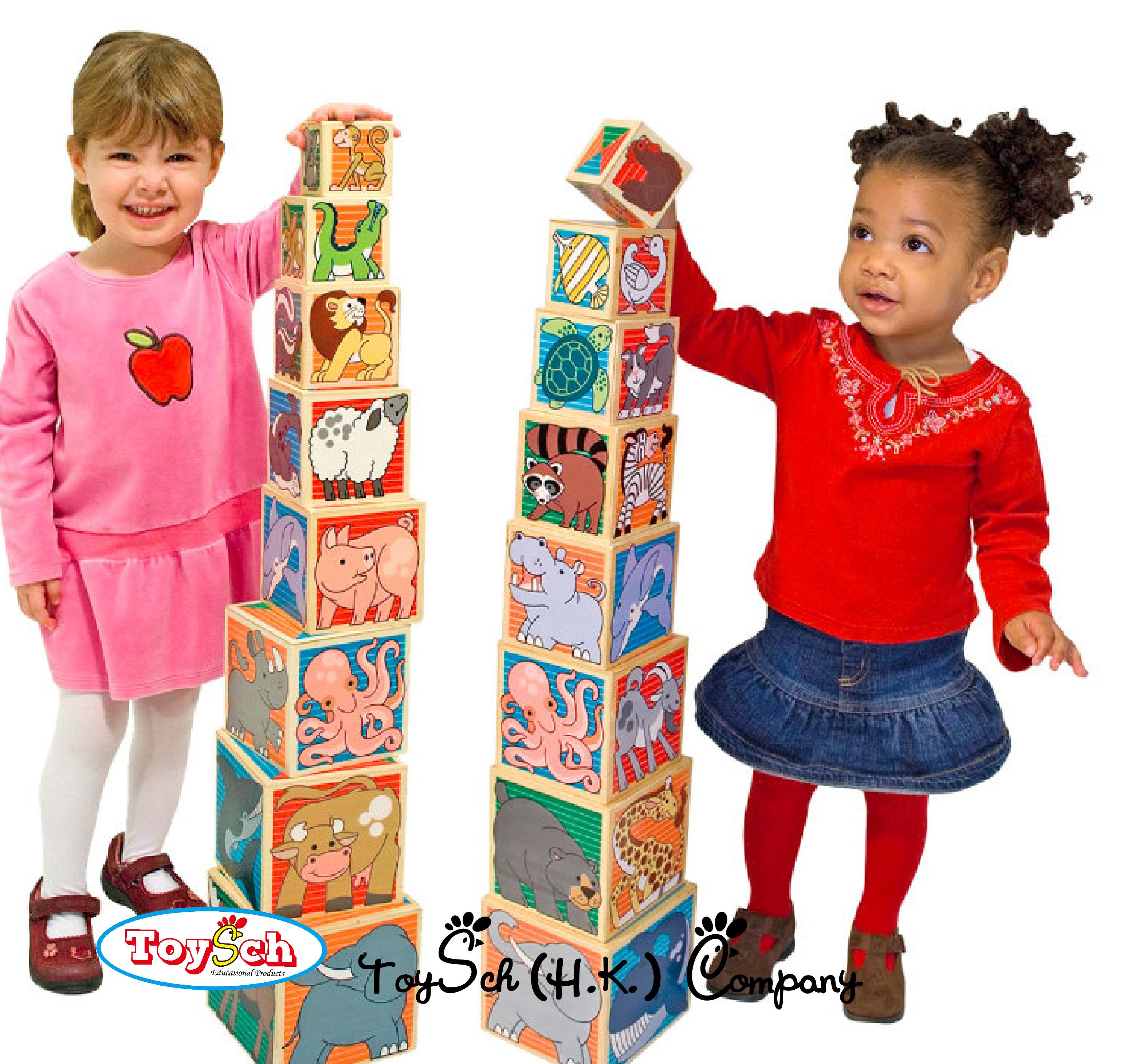 疊疊塔積木玩具