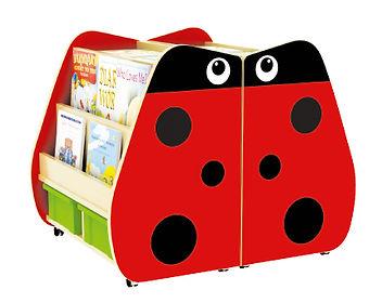 Children bookcase, moveable bookshelf, 兒童圖書櫃,學校書櫃