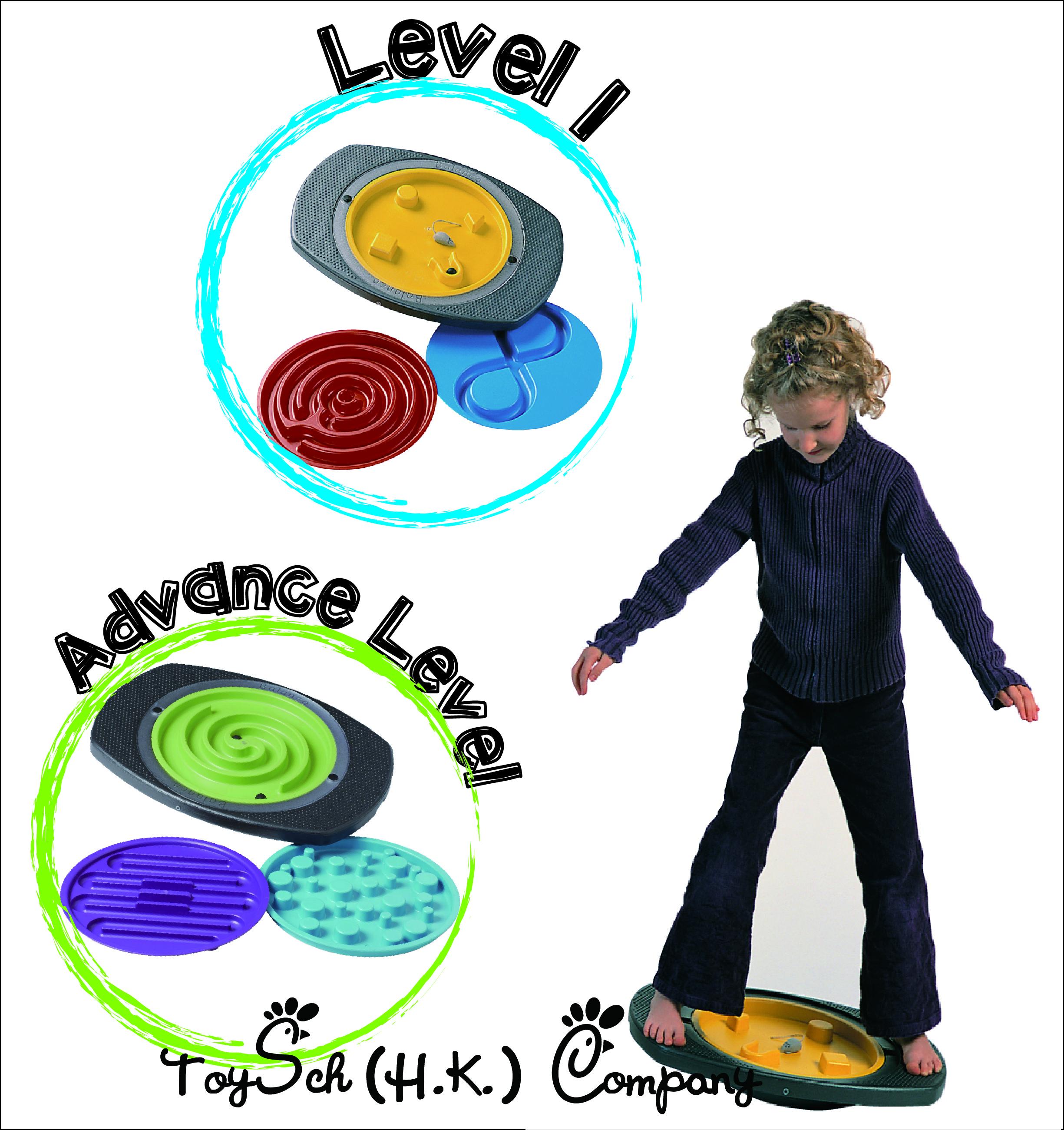 彈珠平衡飛盤