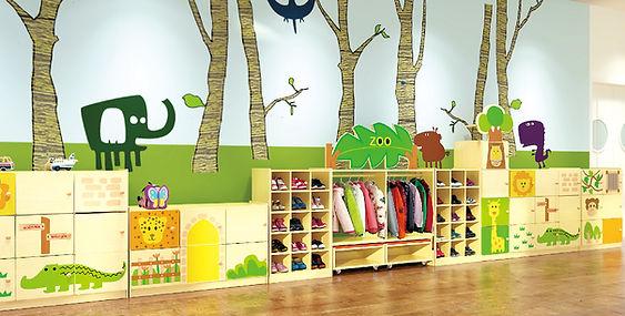 Children Storage Carbinet Kids Storage Unit Hong Kong 香港 幼稚園・學校・兒童儲物櫃・書包櫃・玩具櫃